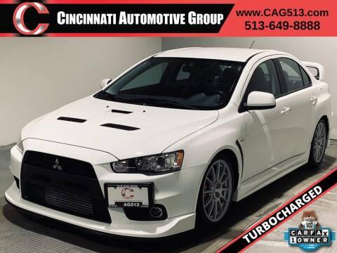 2011 Mitsubishi Lancer Evolution for sale at Cincinnati Automotive Group in Lebanon OH