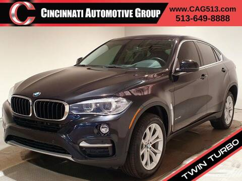 2016 BMW X6 for sale at Cincinnati Automotive Group in Lebanon OH