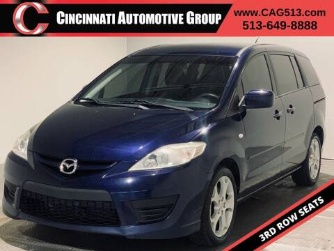 2008 Mazda MAZDA5 for sale at Cincinnati Automotive Group in Lebanon OH