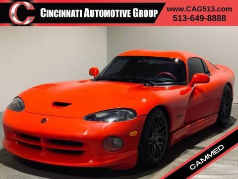 1998 Dodge Viper for sale at Cincinnati Automotive Group in Lebanon OH