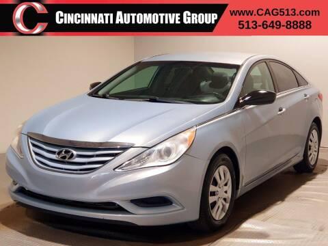 2011 Hyundai Sonata for sale at Cincinnati Automotive Group in Lebanon OH