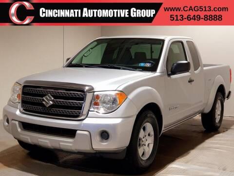 2012 Suzuki Equator for sale at Cincinnati Automotive Group in Lebanon OH