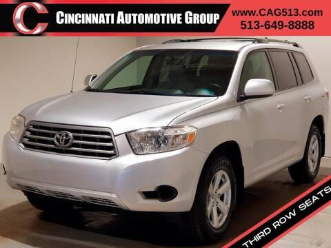 2009 Toyota Highlander for sale at Cincinnati Automotive Group in Lebanon OH