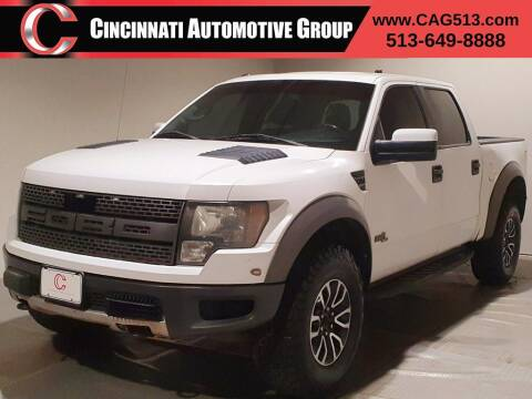 2012 Ford F-150 for sale at Cincinnati Automotive Group in Lebanon OH