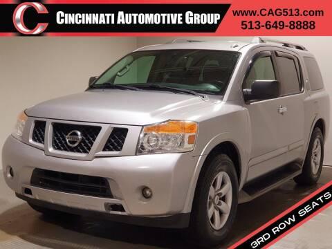 2013 Nissan Armada for sale at Cincinnati Automotive Group in Lebanon OH