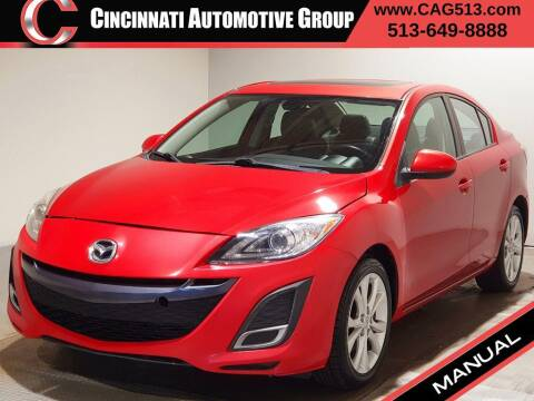 2011 Mazda MAZDA3 for sale at Cincinnati Automotive Group in Lebanon OH