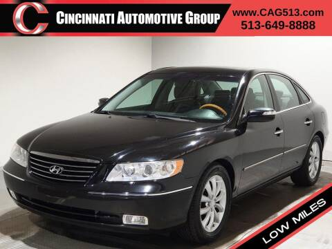 2008 Hyundai Azera for sale at Cincinnati Automotive Group in Lebanon OH