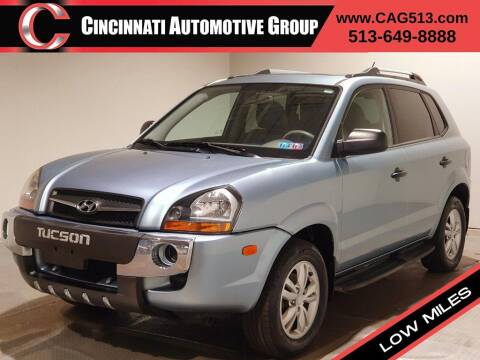2009 Hyundai Tucson for sale at Cincinnati Automotive Group in Lebanon OH