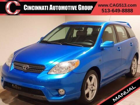 2007 Toyota Matrix for sale at Cincinnati Automotive Group in Lebanon OH