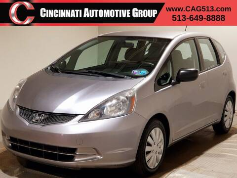 2010 Honda Fit for sale at Cincinnati Automotive Group in Lebanon OH