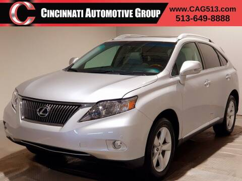 2012 Lexus RX 350 for sale at Cincinnati Automotive Group in Lebanon OH