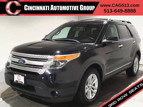 2012 Ford Explorer for sale at Cincinnati Automotive Group in Lebanon OH