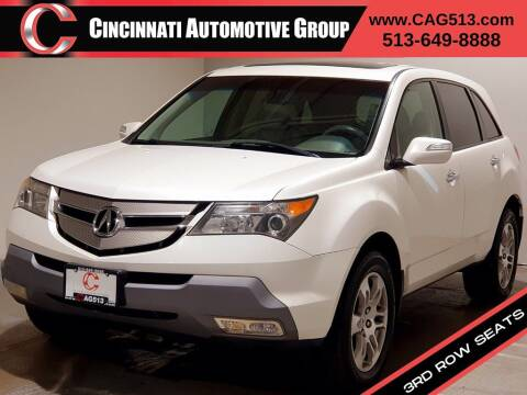2008 Acura MDX for sale at Cincinnati Automotive Group in Lebanon OH
