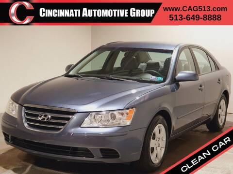 2009 Hyundai Sonata for sale at Cincinnati Automotive Group in Lebanon OH