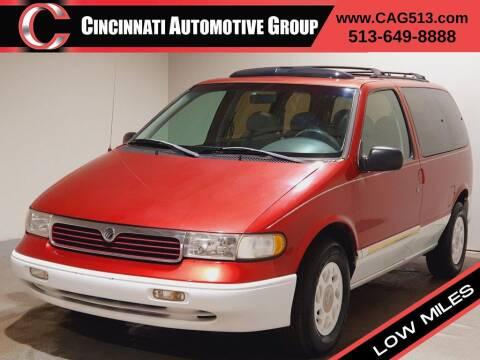 1997 Mercury Villager for sale at Cincinnati Automotive Group in Lebanon OH