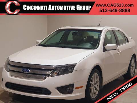 2010 Ford Fusion for sale at Cincinnati Automotive Group in Lebanon OH