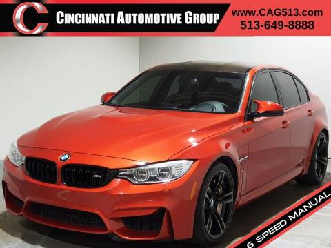 2015 BMW M3 for sale at Cincinnati Automotive Group in Lebanon OH
