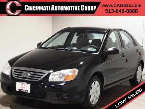 2008 Kia Spectra for sale at Cincinnati Automotive Group in Lebanon OH