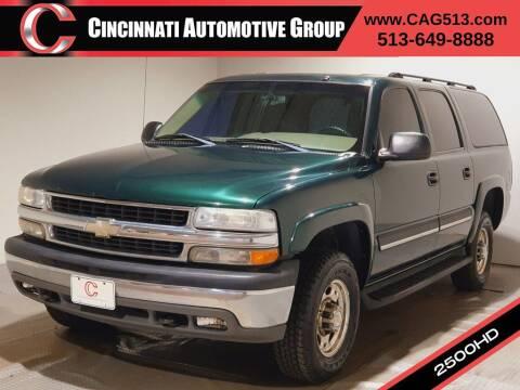 2004 Chevrolet Suburban for sale at Cincinnati Automotive Group in Lebanon OH