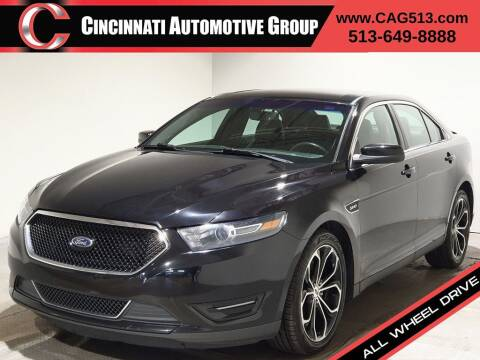 2016 Ford Taurus for sale at Cincinnati Automotive Group in Lebanon OH