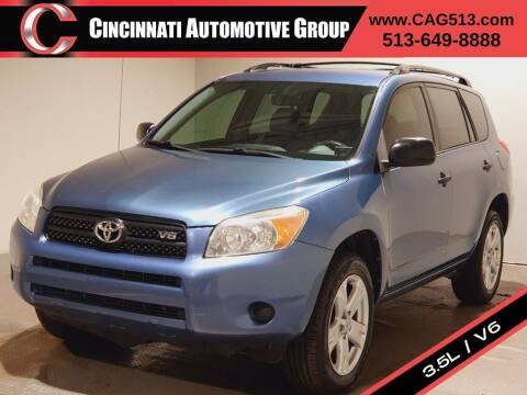 2008 Toyota RAV4 for sale at Cincinnati Automotive Group in Lebanon OH