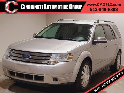 2008 Ford Taurus X for sale at Cincinnati Automotive Group in Lebanon OH