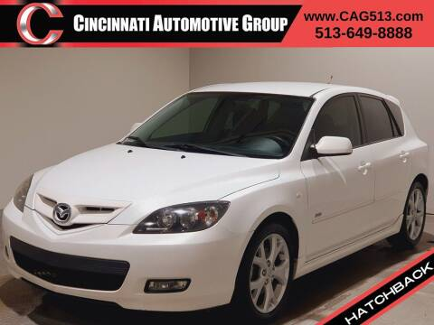 2009 Mazda MAZDA3 for sale at Cincinnati Automotive Group in Lebanon OH