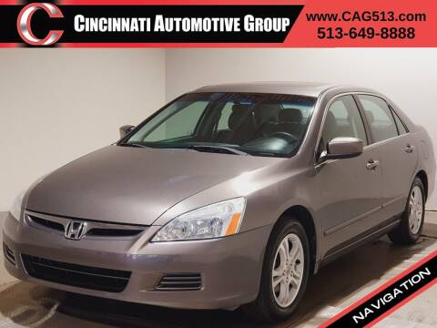2006 Honda Accord for sale at Cincinnati Automotive Group in Lebanon OH