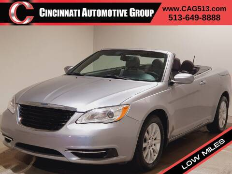 2014 Chrysler 200 Convertible for sale at Cincinnati Automotive Group in Lebanon OH