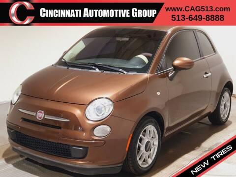 2013 FIAT 500 for sale at Cincinnati Automotive Group in Lebanon OH
