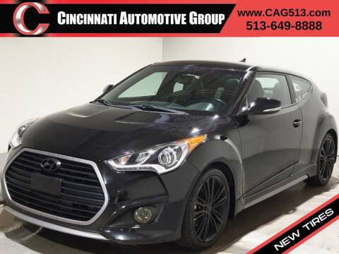 2016 Hyundai Veloster for sale at Cincinnati Automotive Group in Lebanon OH