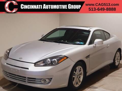 2008 Hyundai Tiburon for sale at Cincinnati Automotive Group in Lebanon OH