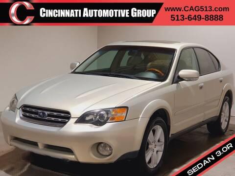 2005 Subaru Outback for sale at Cincinnati Automotive Group in Lebanon OH