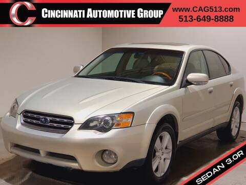 2005 Subaru Outback for sale at Cincinnati Automotive Group in Lebanon OH