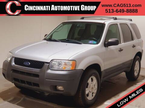 2003 Ford Escape for sale at Cincinnati Automotive Group in Lebanon OH