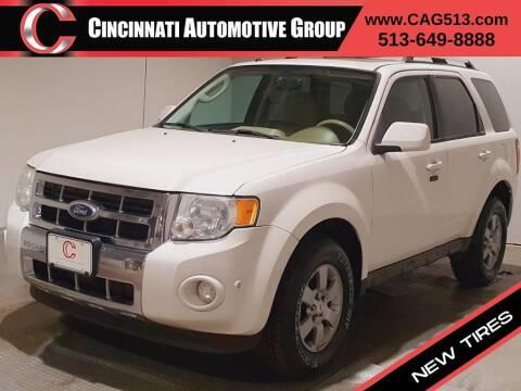 2010 Ford Escape for sale at Cincinnati Automotive Group in Lebanon OH