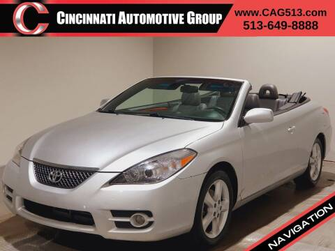 2008 Toyota Camry Solara for sale at Cincinnati Automotive Group in Lebanon OH
