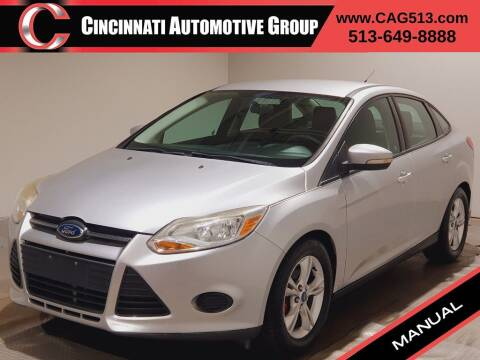 2013 Ford Focus for sale at Cincinnati Automotive Group in Lebanon OH