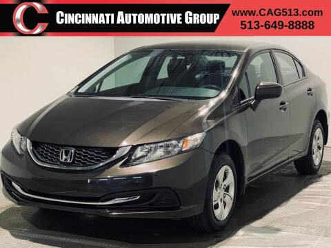 2014 Honda Civic for sale at Cincinnati Automotive Group in Lebanon OH