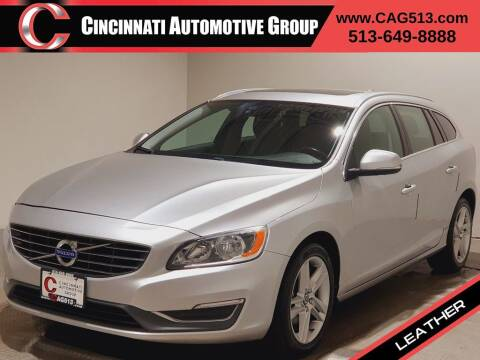 2015 Volvo V60 for sale at Cincinnati Automotive Group in Lebanon OH