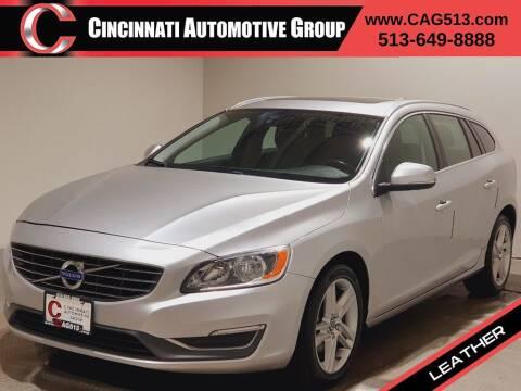 2015 Volvo V60 for sale at Cincinnati Automotive Group in Lebanon OH