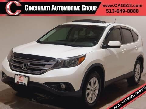 2013 Honda CR-V for sale at Cincinnati Automotive Group in Lebanon OH