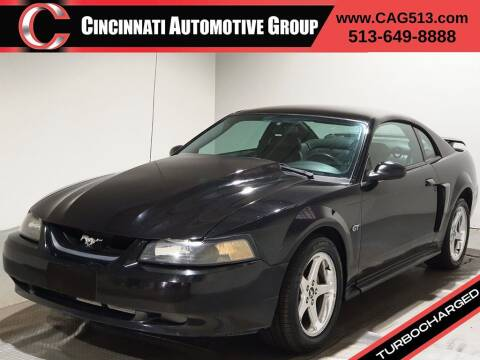 2003 Ford Mustang for sale at Cincinnati Automotive Group in Lebanon OH