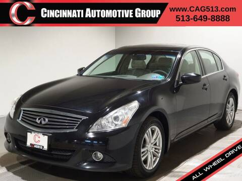 2011 Infiniti G37 Sedan for sale at Cincinnati Automotive Group in Lebanon OH