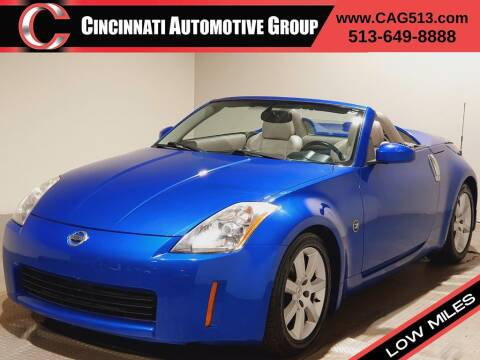 2004 Nissan 350Z for sale at Cincinnati Automotive Group in Lebanon OH