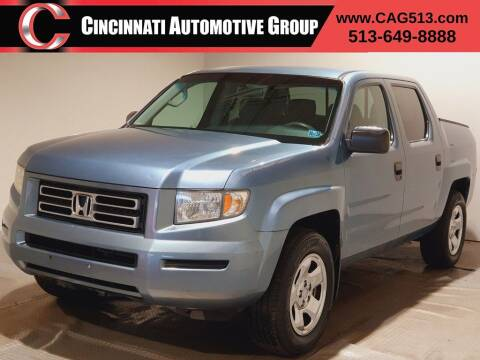 2006 Honda Ridgeline for sale at Cincinnati Automotive Group in Lebanon OH