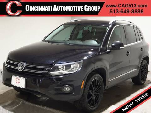 2013 Volkswagen Tiguan for sale at Cincinnati Automotive Group in Lebanon OH