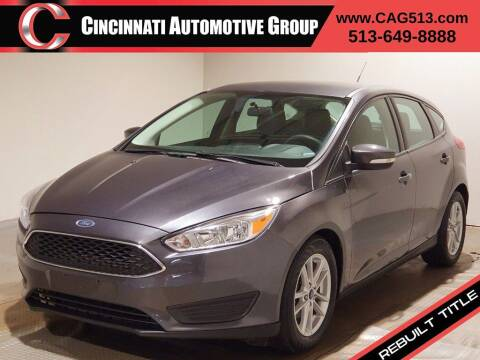 2017 Ford Focus for sale at Cincinnati Automotive Group in Lebanon OH