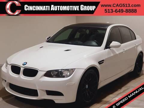 2008 BMW M3 for sale at Cincinnati Automotive Group in Lebanon OH