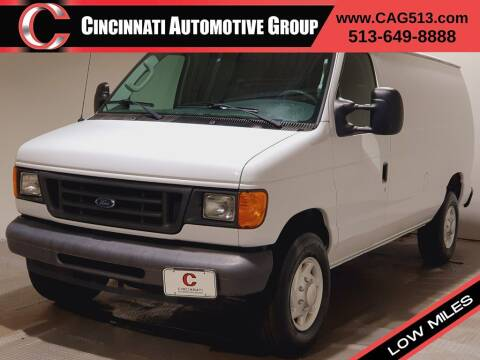 2007 Ford E-Series Cargo for sale at Cincinnati Automotive Group in Lebanon OH